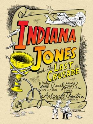 Indiana Jones and the Last Crusade 450x600