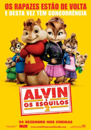 Alvin and the Chipmunks: The Squeakquel 1252x1772