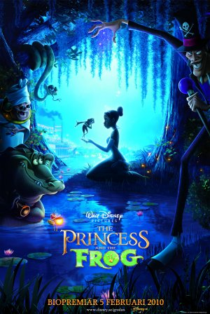 The Princess and the Frog 3345x5000