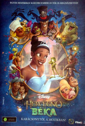 The Princess and the Frog 1082x1600