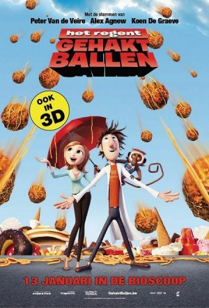 Cloudy with a Chance of Meatballs 450x663