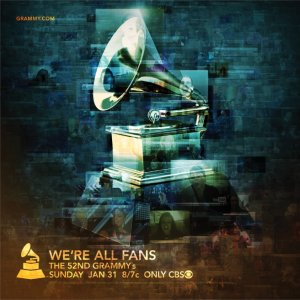 The 52nd Annual Grammy Awards 656x657