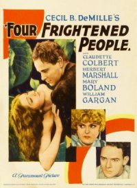 Four Frightened People poster