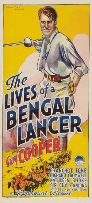 The Lives of a Bengal Lancer 1333x2925