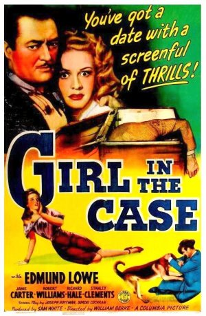The Girl in the Case Poster