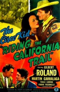 Riding the California Trail poster