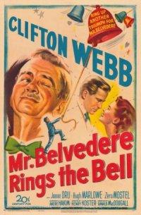 Mr. Belvedere Rings the Bell poster