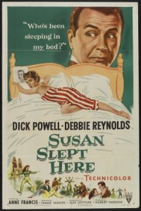 Susan Slept Here poster