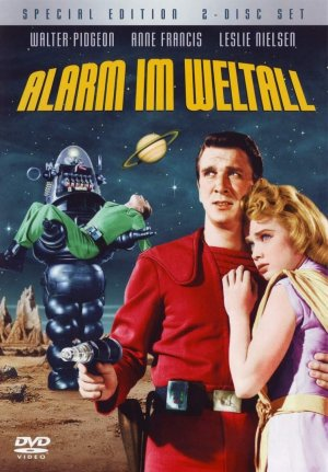 Forbidden Planet Dvd cover