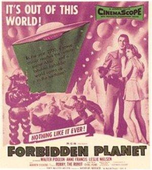 Forbidden Planet 320x357