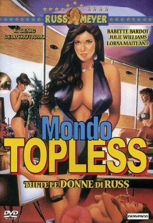 Mondo Topless Dvd cover