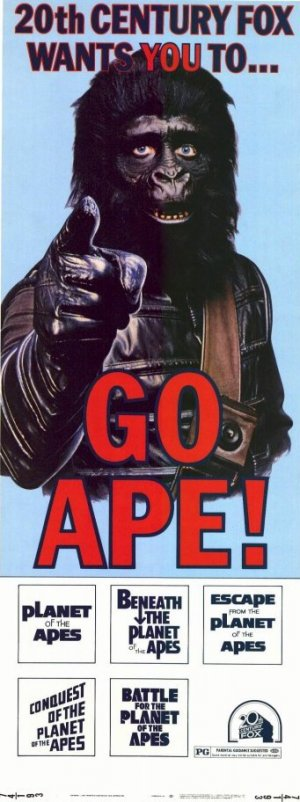 Planet of the Apes 341x912