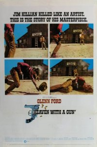Heaven with a Gun poster