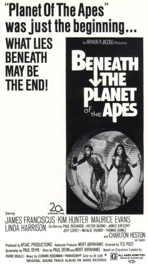 Beneath the Planet of the Apes 373x664