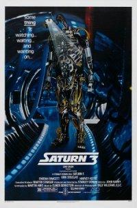Saturn 3 poster