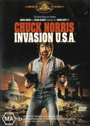 Invasion U.S.A. Dvd cover
