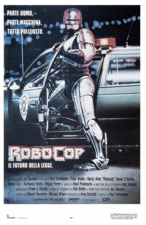 RoboCop Theatrical poster