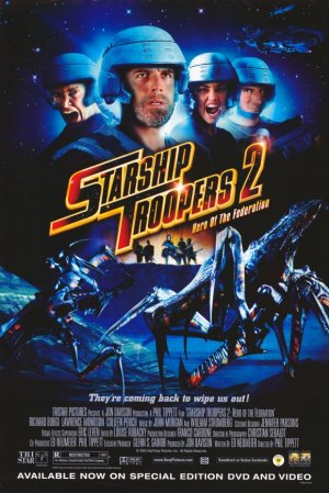 Starship Troopers 2: Hero of the Federation 580x868