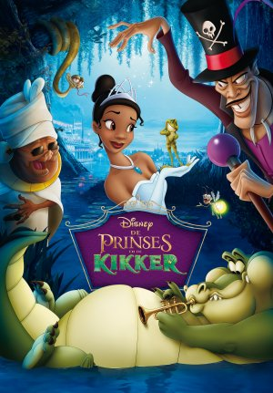 The Princess and the Frog 3482x5000