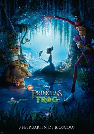 The Princess and the Frog 2894x4134