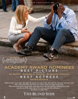 The Blind Side For your consideration poster