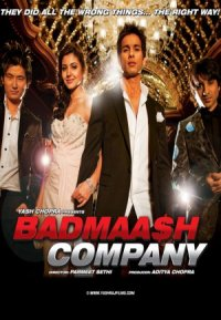 Badmaa$h Company poster