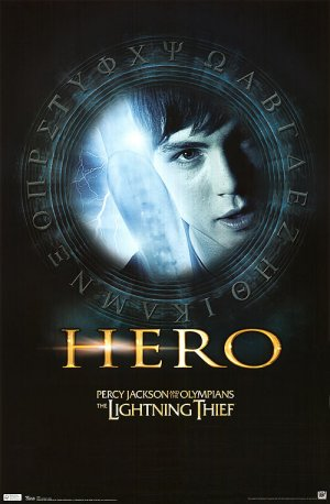 Percy Jackson & the Olympians: The Lightning Thief 500x764