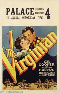 The Virginian poster
