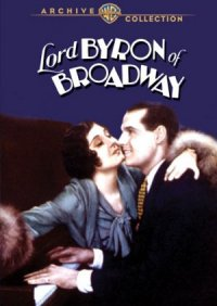 Lord Byron of Broadway poster