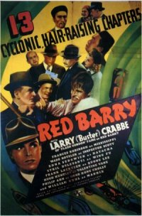 Red Barry poster