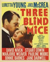 Three Blind Mice poster