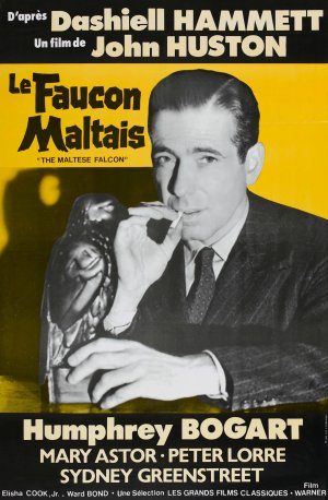 The Maltese Falcon Re-release poster