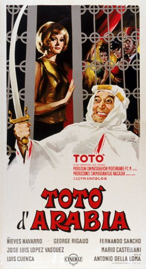Tot� d'Arabia Theatrical poster
