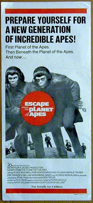 Escape from the Planet of the Apes 329x720