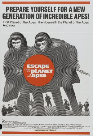 Escape from the Planet of the Apes 1838x2693