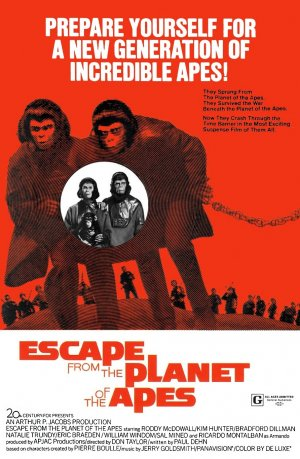 Escape from the Planet of the Apes 892x1364
