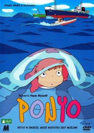 Ponyo en el acantilado 500x706