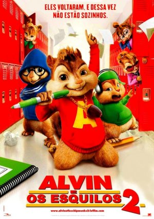 Alvin and the Chipmunks: The Squeakquel 754x1072