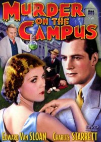 Murder on the Campus poster