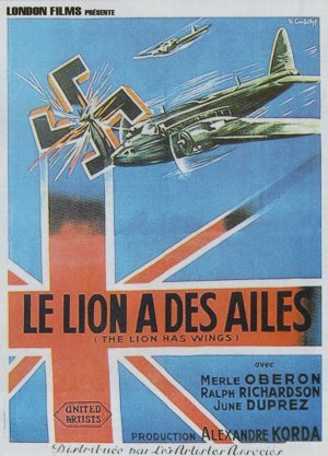 The Lion Has Wings Poster
