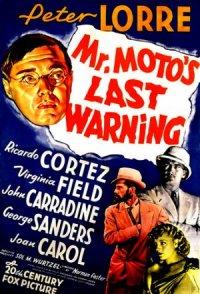 Mr. Moto's Last Warning poster