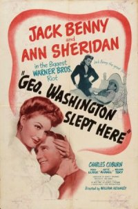 George Washington Slept Here poster