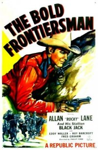 The Bold Frontiersman poster