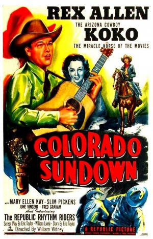 Colorado Sundown Poster