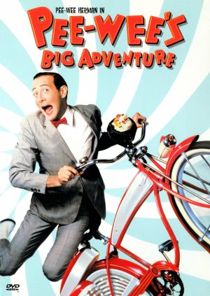 Pee-wee's Big Adventure Dvd cover