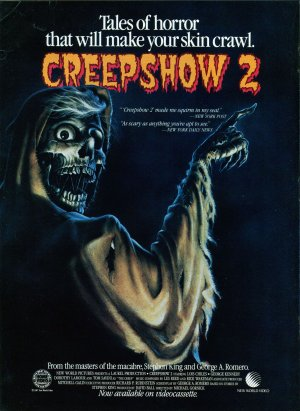 Creepshow 2 Video release poster