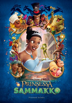 The Princess and the Frog 992x1417