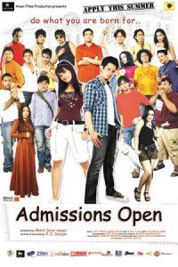 Admissions Open poster