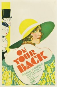 On Your Back poster