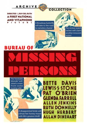 Bureau of Missing Persons 359x512